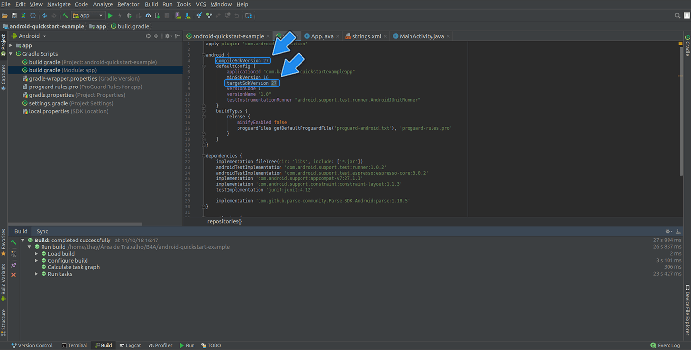 Install Parse SDK on your Android Studio Project | Back4app Guides