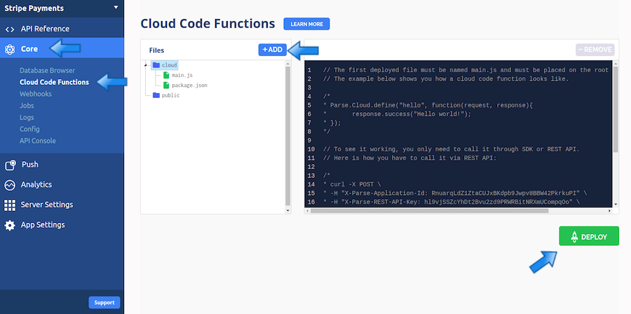 How to integrate Stripe on your app using Cloud Functions | Back4app